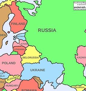 kart russland ukraina Russland har fritt spillerom i Ukraina da Vesten ikke vil stille  kart russland ukraina