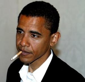 obama smoke
