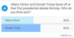 debatt-trump-hillary